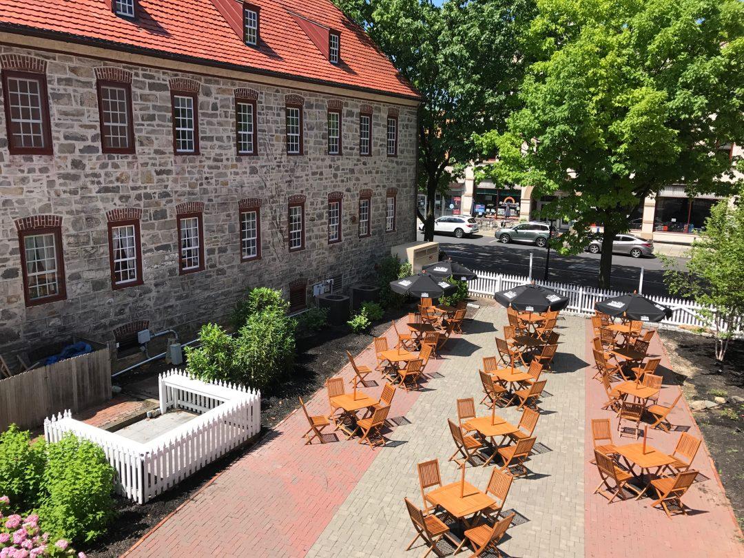 Tavern Courtyard at the Sun Inn