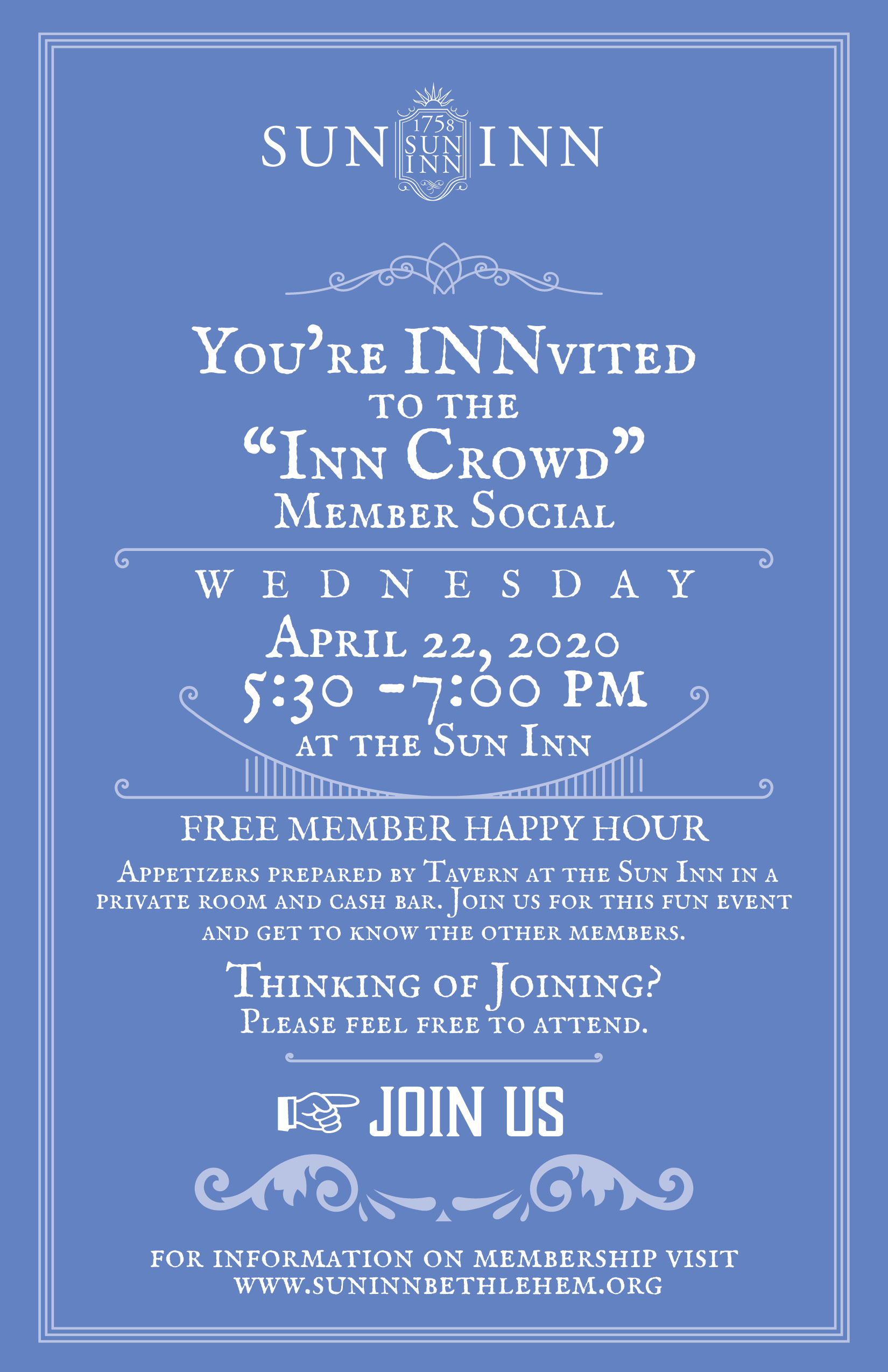 Inn Crowd Invite.April