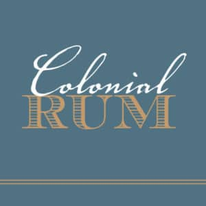 Colonial Rum Label