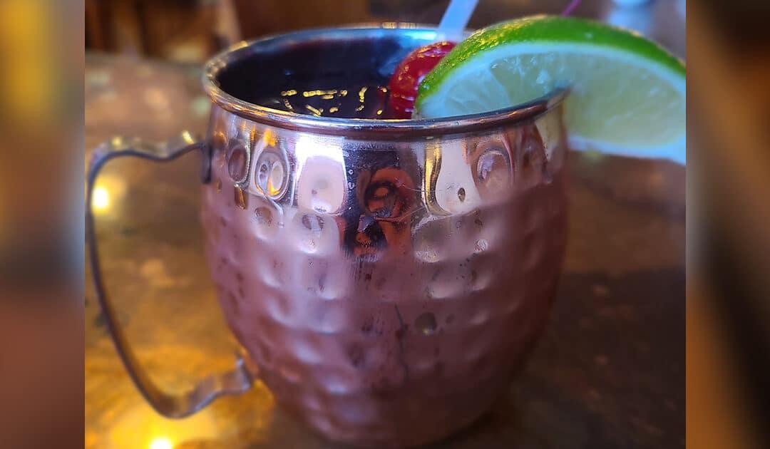 Cherry Mule Cocktail Recipe