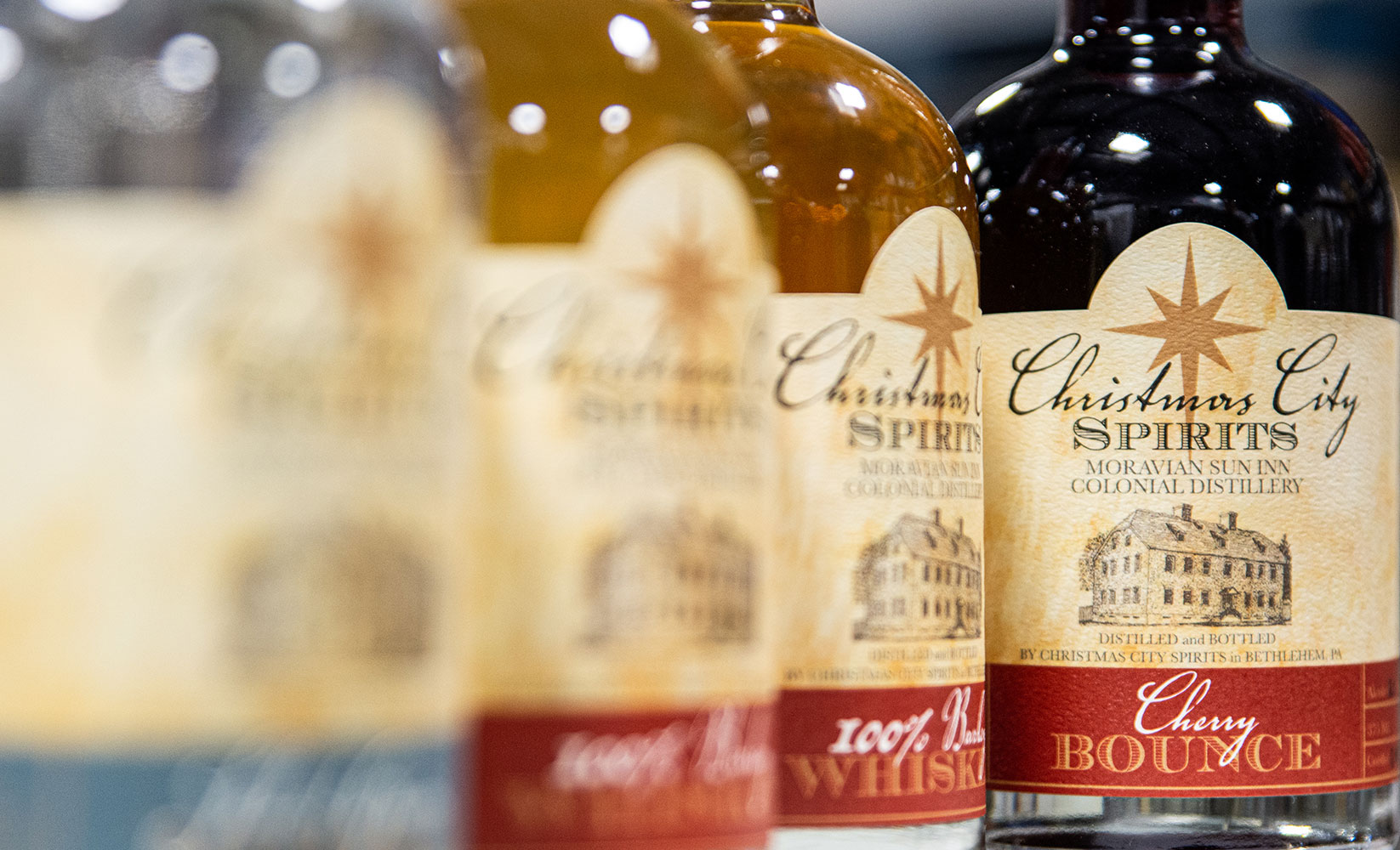 Christmas City Spirits Bottle sales