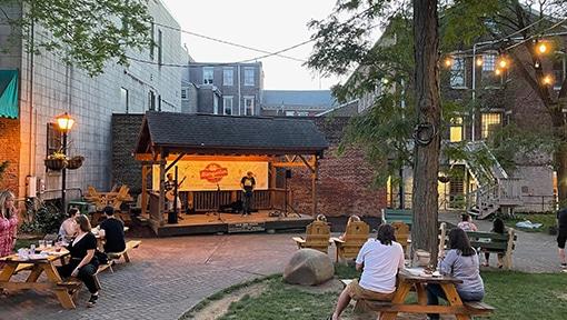 Sun Inn Stage